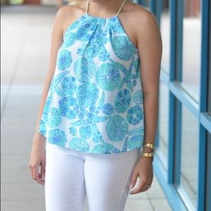 Lilly Pulitzer Sea Urchin For You Halter Top